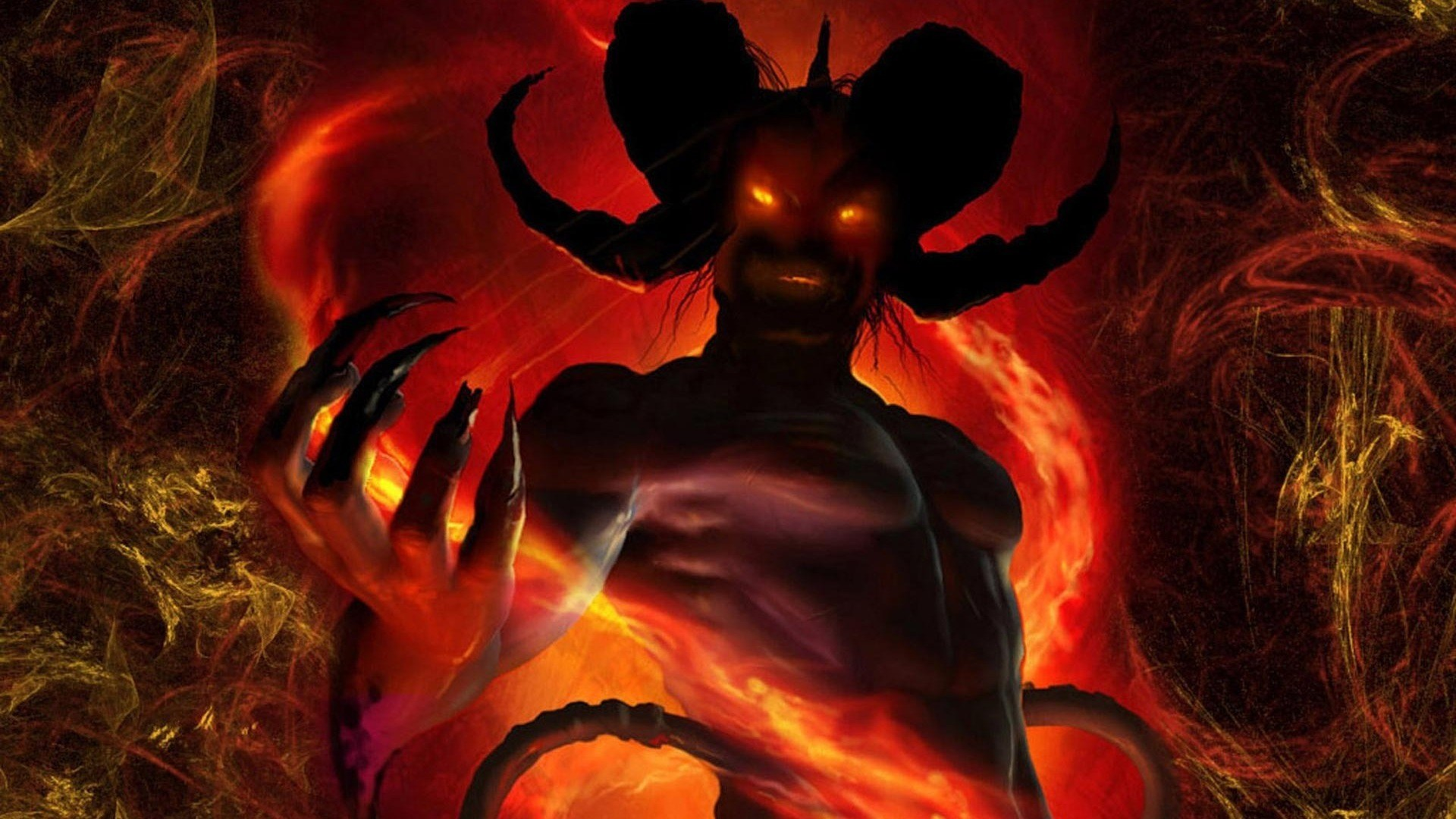 Devil: From Latin 'Diaballein' meaning 'to throw accross